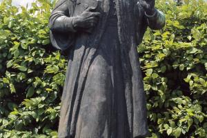 Méliusz Juhász Péter szobra