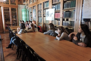 A máglya - levéltár-pedagógiai foglalkozás Sopronban