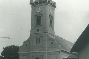 A református templom az 1960-as években