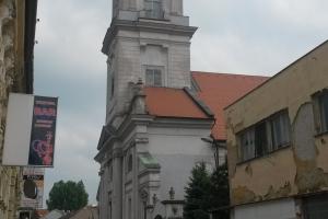 Az észak-komáromi (Komarno) református templom