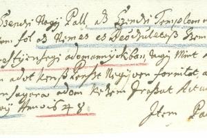 Szenc református templomának segélyezése 1648-ból