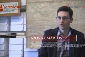 Kisfilmek a forrásokról - 15. - Szovák Márton