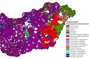 Felekezeti adatok térképekkel I. - Áttekintés