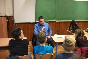 Levéltári óra iskolában! - A Vas Megyei Levéltár és a Reményik Sándor Evangélikus Általános Iskola együttműködése