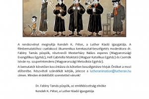 A Luther rajzfilm új részeinek vetítése