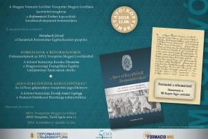 Meghívó az MNL Veszprém Megyei Levéltára forrásköteteinek bemutatójára