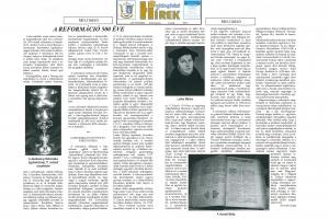 A REFORMÁCIÓ 500 ÉVE - Boldogházi Hírek