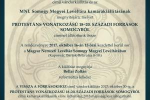 Két kiállítás megnyitója a Somogy Megyei Levéltárban