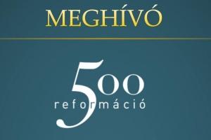 """A """"Reformáció 500"""" emlékbélyeg sajtónyilvános kibocsátása és megyei díjátadó Győrben"""