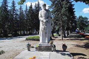 Baltazár Dezső síremléke - Debrecen