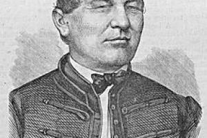 Pollák Zsigmond metszete