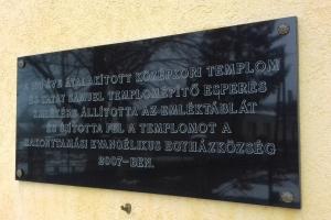 Tatay Sámuel evangélikus esperes