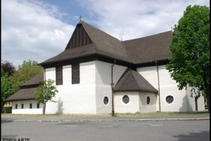 Késmárk, a régi evangélikus templom