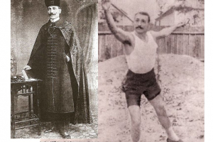 Kóczán Mór atléta, olimpiai bronzérmes gerelyhajító, református lelkész