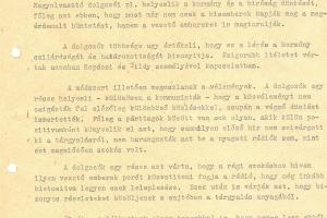 Kis József: Információs jelentés Nagy Imre és társai kivégzésével kapcsolatosan