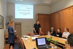 Hévízi középiskolások reformációtörténeti levéltár-pedagógia foglalkozása
