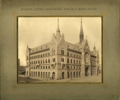 A budapesti unitárius egyházközség temploma