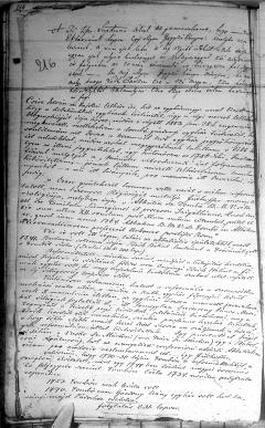 Gyülekezettörténeti feljegyzések Kastélyosdombó református anyakönyvében, 1883