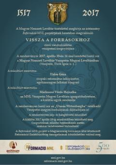 """A """"Vissza a forrásokhoz"""" vándorkiállítás Veszprémben"""