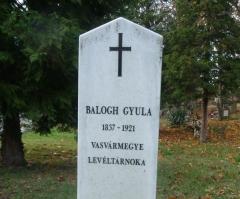 Balogh Gyula emléke