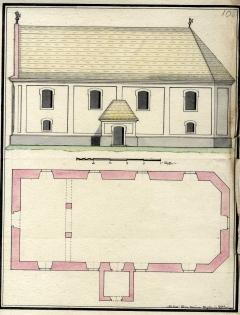 Templomépítés Pakson a 18. században
