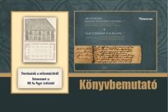 KÖNYVBEMUTATÓ - Forrásaink a reformációról