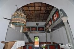 Gyügyei Református Templom belső tere