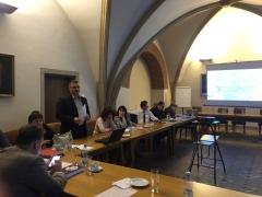 """A """"Reformáció MNL"""" zempléni kutatási eredményeinek bemutatása Prágában"""
