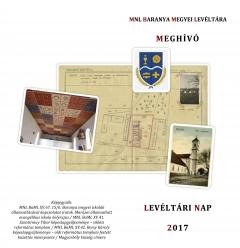 """Meghívó az MNL Baranya Megyei Levéltára """"A Reformáció 500 éve"""" című Levéltári Napi konferenciájára"""
