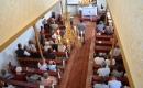Templombelső - az ünnepi Istentisztelet