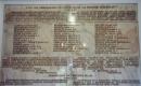 A Zsinat épületének díszterme előterében 1936. május 6-án Marjai Károly mezőtúri lelkipásztor javaslatára emléktáblát avattak, mely a gályarabok mártíromságára emlékeztet
