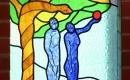 Budahegyvidéki üvegablak - a tudás fája