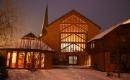 A templom télen