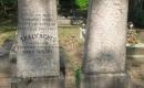 Eöri Nagy Mihály református püspök és felesége, Thaly Ágnes síremléke (Komarno, Észak-Komárom)