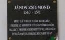 Füzesgyarmati Unitárius Templom - János Zsigmond emléktábla