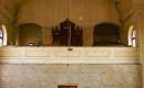 Gádorosi Evangélikus Templom - a karzat és az orgona