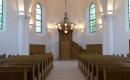Hódmezővásárhelyi Unitárius Templom - a restaurált templombelső