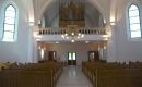 Hódmezővásárhelyi Unitárius Templom - a karzat és az orgona