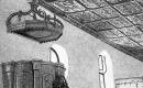 Kadarkúti Református Templom - szószék a koronával - . Malonyay Dezső