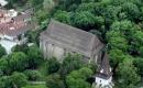 Miskolc - Avasi Református Templom és Harangtorony - légifotó