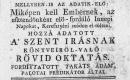 TA keresztyéni inneplésről kérdések és feleletek által való együgyű tanitás... Hozzá adatott a szentírásnak könyveiről-való oktatás. Ford. Vácz, 1782. Posony : Patzkó Ny., 1793.
